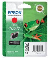 Epson Singlepack Red T0547 Ultra Chrome Hi-Gloss