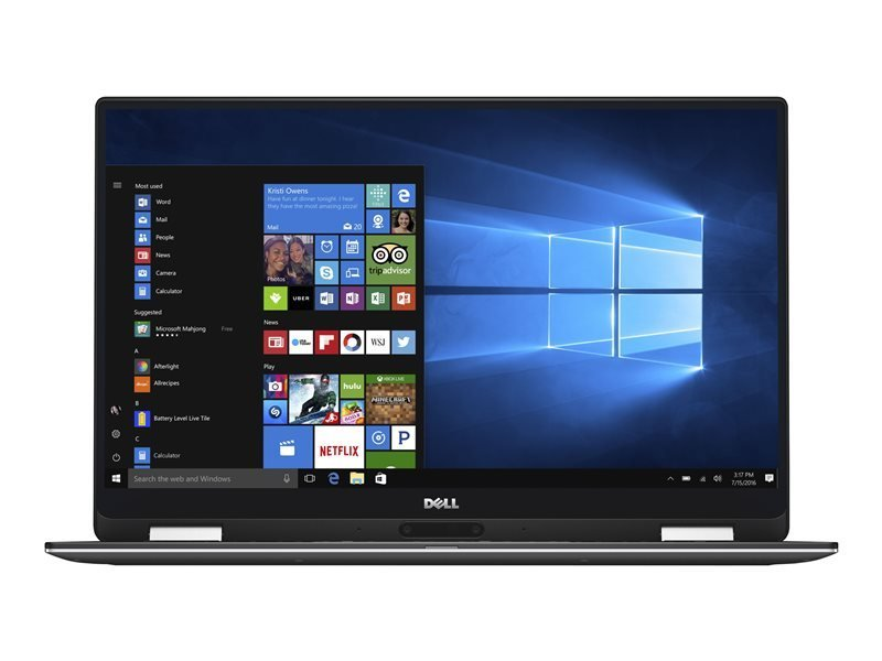 "Dell XPS 13 9365 Core i5-8200Y 8GB 256GB SSD 13.3"" Win10 Pro Laptop"