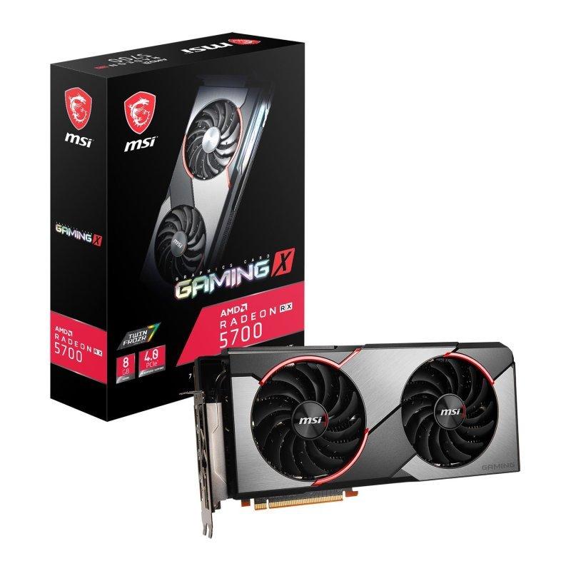 MSI Radeon RX 5700 GAMING X 8GB GDDR6 Graphics Card