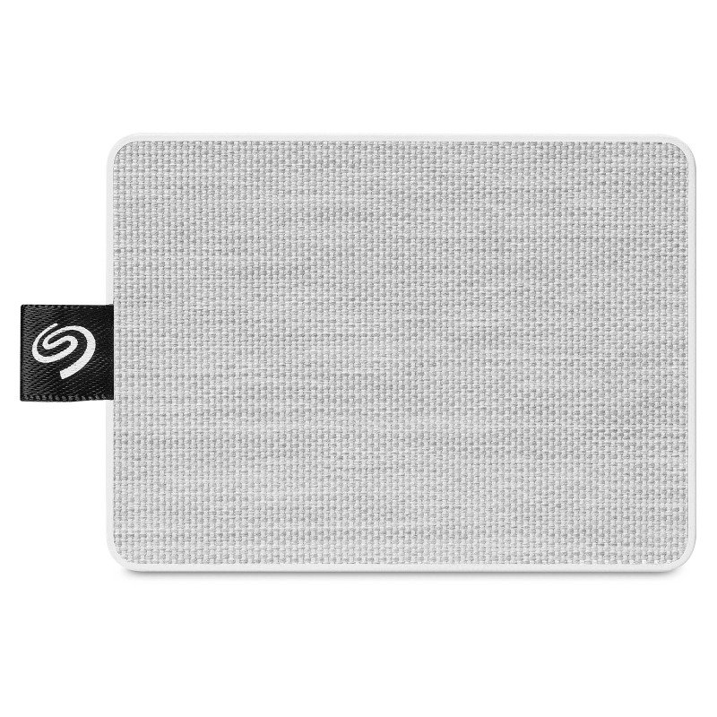 Seagate One Touch 1TB Portable SSD - White / Grey