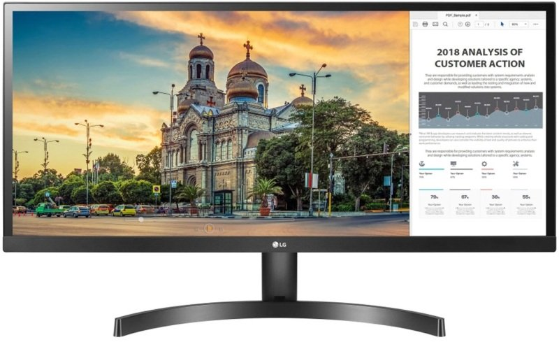 "LG 29WL500 29"" UltraWide Full HD IPS Monitor with HDR 10"