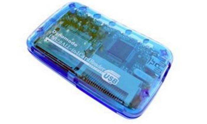 Dynamode USB 4 Slot Multi Card Reader