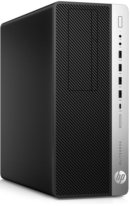 Image of HP EliteDesk 800 G4 TWR Desktop PC, Intel Core i7-8700 3.2GHz, 16GB DDR4, 256GB SSD, DVDRW, Intel UHD, Windows 10 Pro 64, 3 Year NBD