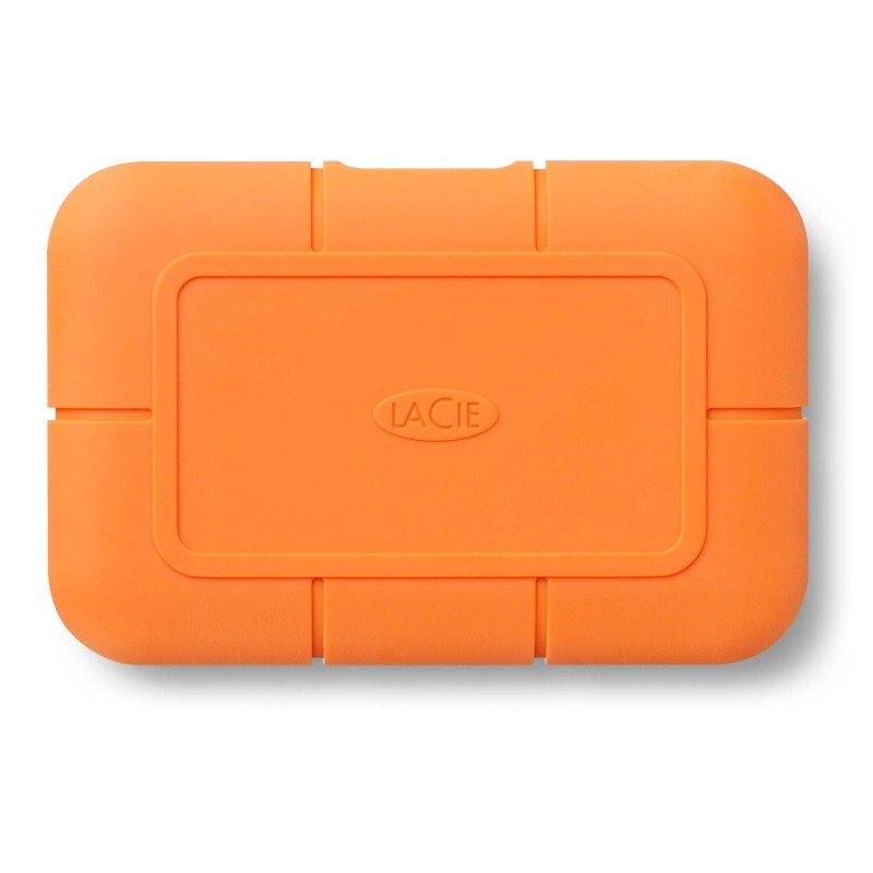 LaCie Rugged SSD Professional External Solid State Drive USB-C USB 3.0 500GB