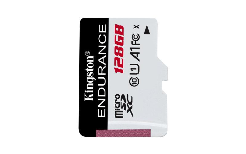 Kingston 128GB High Endurance microSD Card