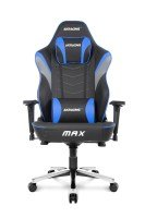 AKRacing Masters Series Max Gaming Chair (Black, Blue)