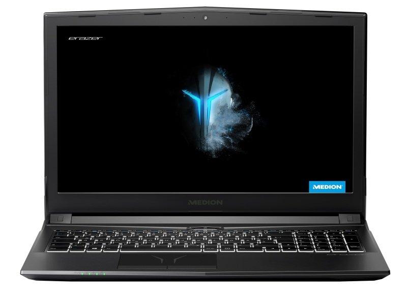 MEDION ERAZER P6705 Intel i7 GTX 1050Ti Gaming Laptop