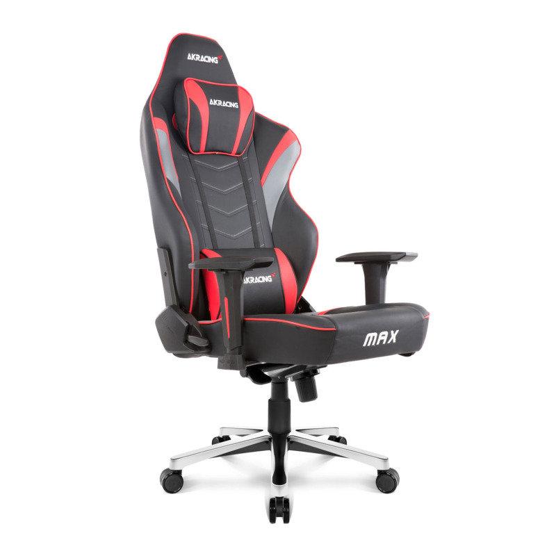 AKRacing Masters Series MAX Black / Red Gaming Chair