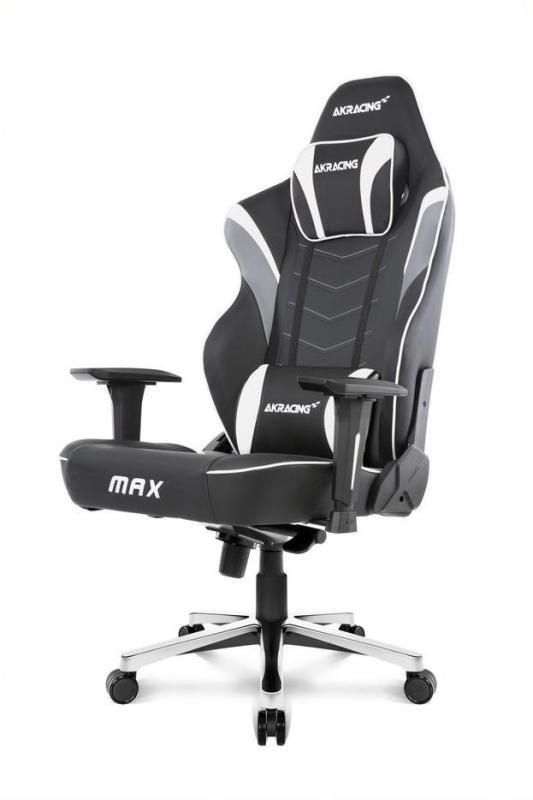 AKRacing Masters Series MAX Gaming Chair - White