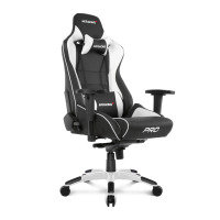 AKRacing Masters Series BLACK/WHITE Pro Gaming Chair
