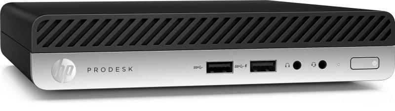 HP ProDesk 400 G5 Core i3 8GB 256GB SSD Win10 Pro Desktop Mini PC