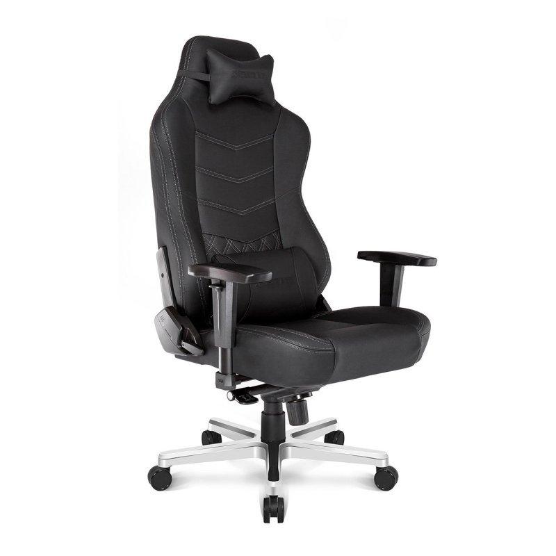 AKRacing Onyx Premium Black Leather Gaming Chair