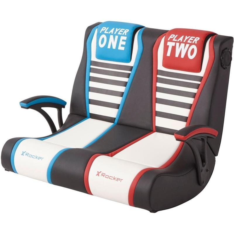 X Rocker Dual Rivals Floor Gaming Chair