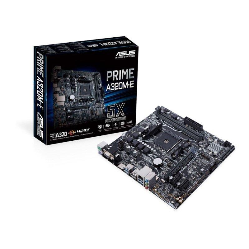 ASUS PRIME A320M-E AM4 DDR4 mATX Motherboard