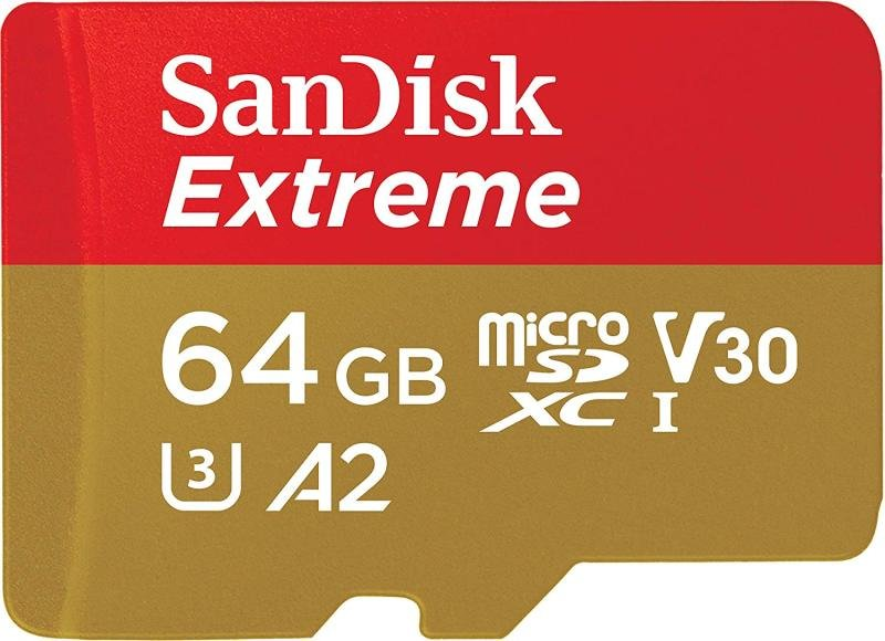 Image of Fc 64gb Extcl10 Uhs-i U3 Micro-sdxc+ad