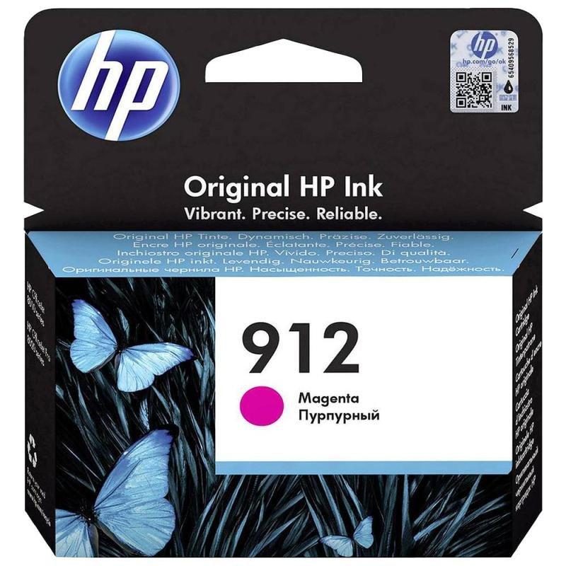 HP 912 Magenta Original Ink Cartridge