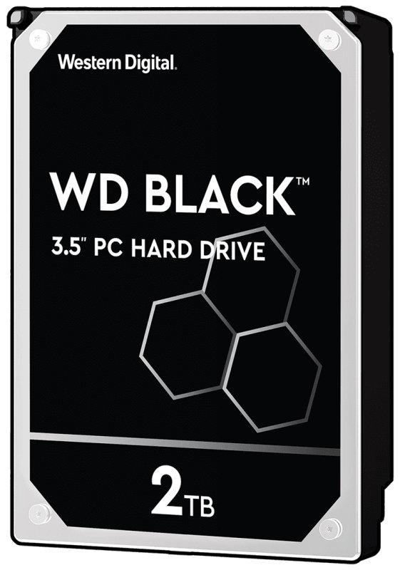 """WD Black 2TB 3.5"""" SATA Desktop Hard Drive"""