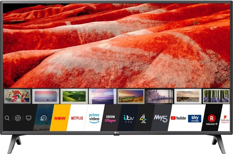 """LG 50UM7500PLA 50"""" Smart 4K Ultra HD TV with HDR10 True Colour Accuracy and Freeview Play"""