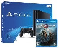 Sony 1TB Black PS4 Pro with God of War