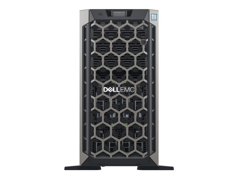 Image of Dell EMC PowerEdge T440 Xeon Silver 4208 2.1 GHz 16GB RAM 5U Tower Server
