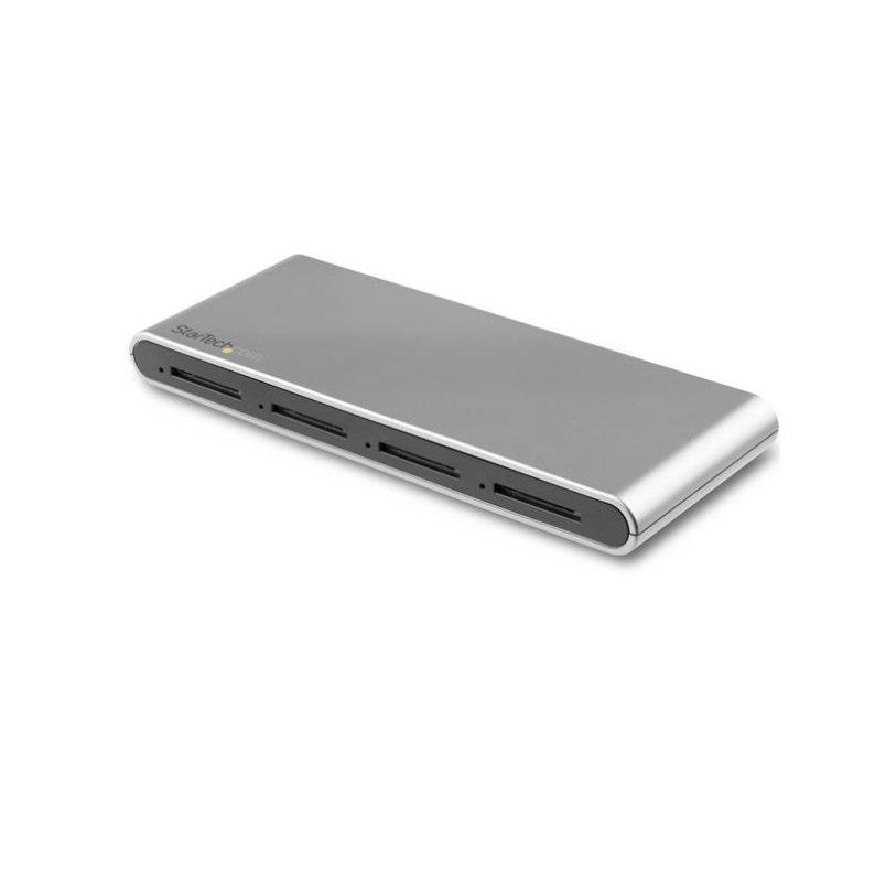 StarTech.com 4-Slot USB-C SD Card Reader