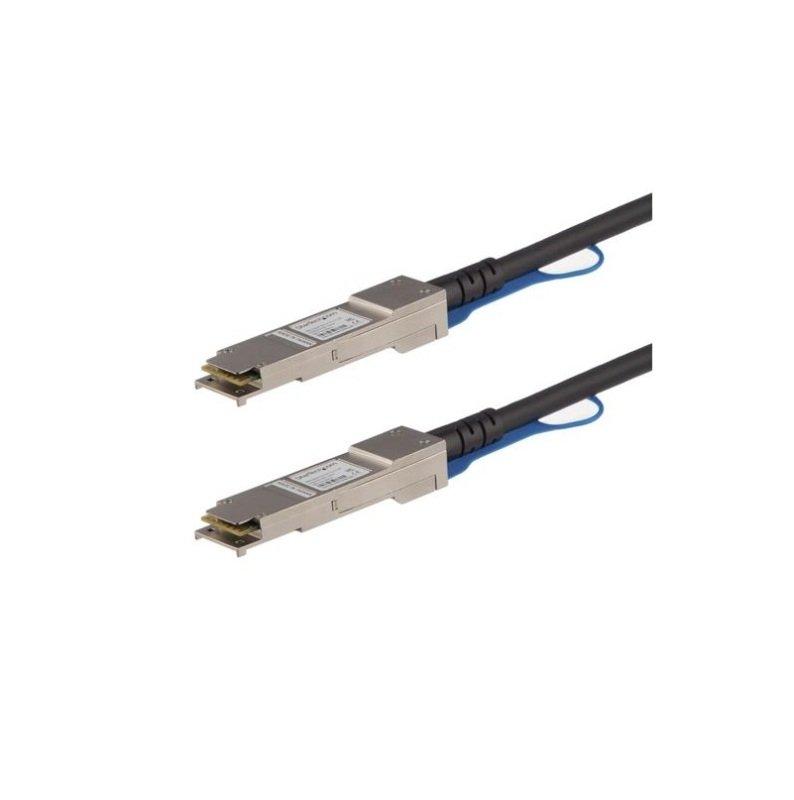 StarTech.com Juniper QFX-QSFP-DAC-3M Compatible QSFP+ Direct-Attach Twinax Cable - 3 m