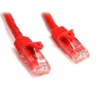 StarTech.com Snagless Cat6 UTP Patch Cable 7.6m Red