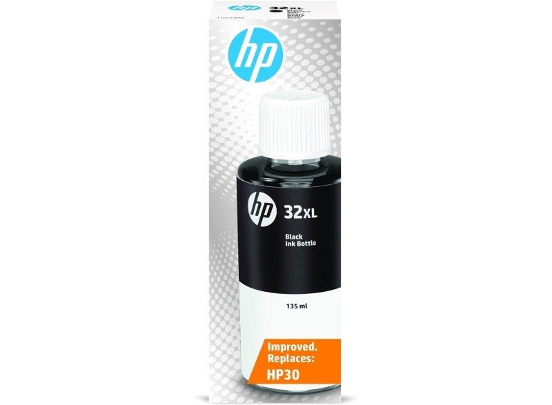 Hp 32 Black Original Ink Bottle - Zone 2.1 Except Est Ltu Lva