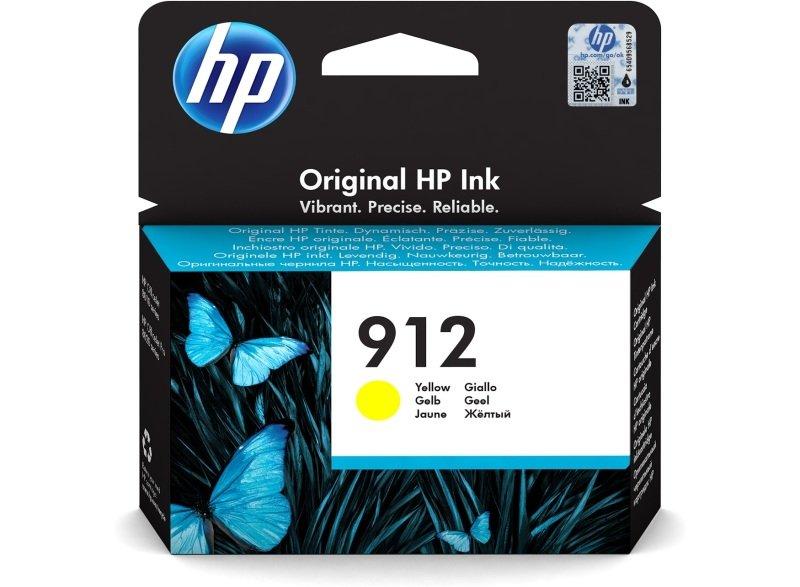 hp 912 yellow original ink - cartridge
