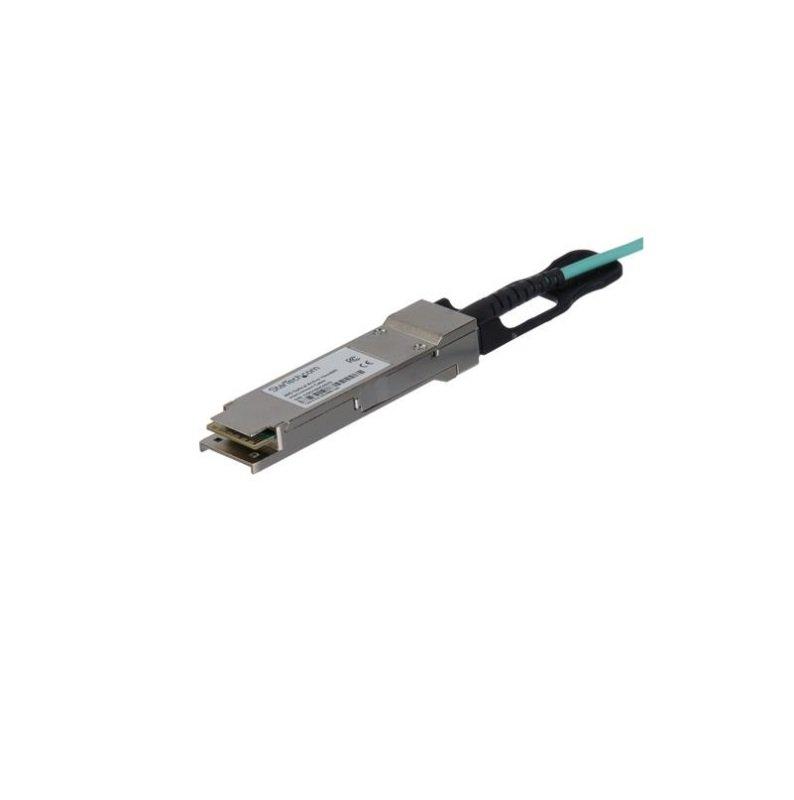 StarTech.com Cisco QSFP-H40G-AOC15M Compatible QSFP+ Active Optical Cable - 15 m