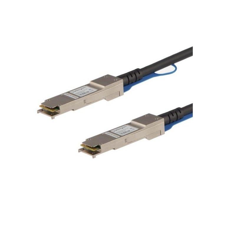 StarTech.com Cisco QSFP-H40G-CU0-5M Compatible QSFP+ Direct-Attach Twinax Cable - 0.5 m