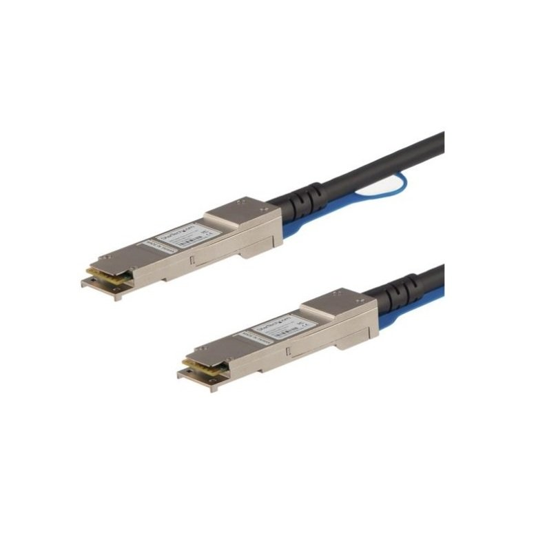 StarTech.com Cisco QSFP-H40G-CU5M Compatible QSFP+ Direct-Attach Twinax Cable - 5 m