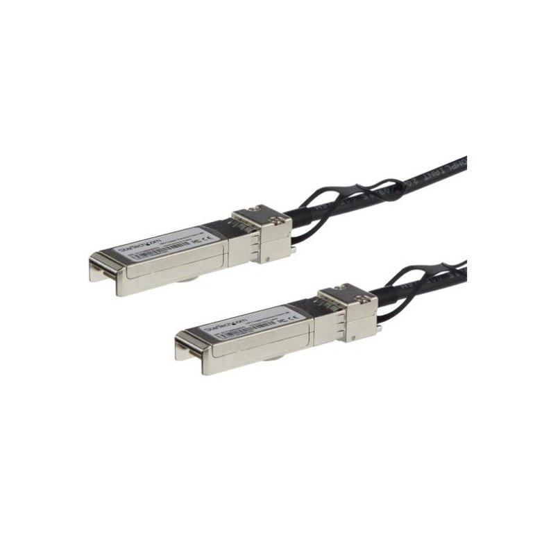 StarTech.com Cisco SFP-H10GB-CU1-5M Compatible SFP+ Direct-Attach Twinax Cable - 6 m