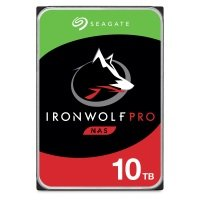 "Seagate IronWolf Pro 10TB NAS Hard Drive 3.5"" 7200RPM 256MB Cache"