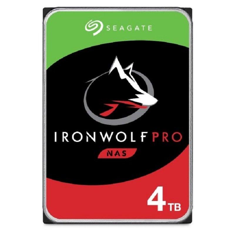 "Seagate IronWolf Pro 4TB NAS Hard Drive 3.5"" 7200RPM 128MB Cache"