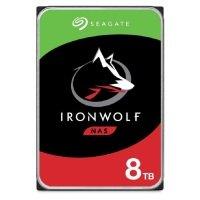 "Seagate IronWolf 8TB NAS Hard Drive 3.5"" 7200RPM 256MB Cache"