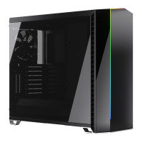 Fractal Design Vector RS Blackout Dark Tempered Glass Mid Tower PC Case