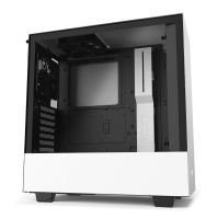 NZXT H510 Matte White / Black Mid Tower Case