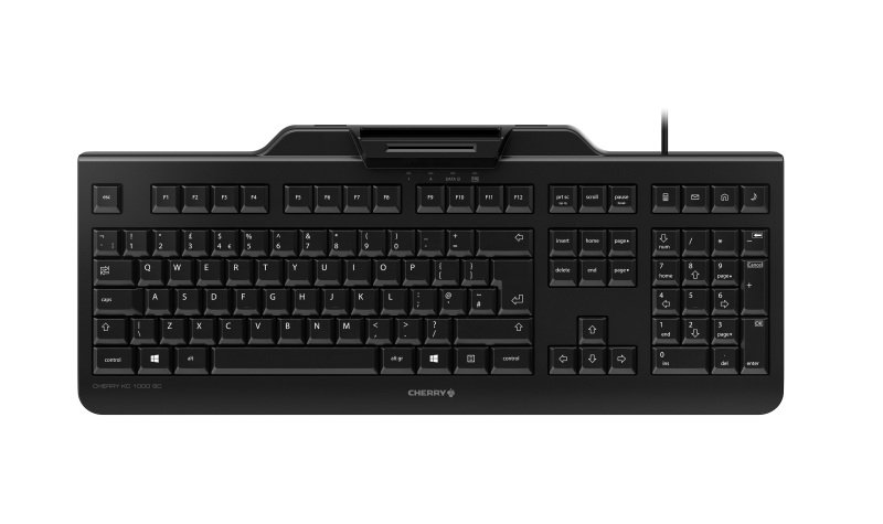 Cherry KC 1000 Wired Security Keyboard Black