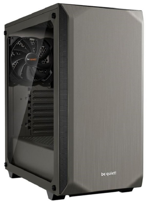 be quiet! Pure Base 500 Grey Tempered Glass Mid Tower PC Gaming Case
