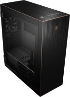 MSI MPG SEKIRA 500G Full Tower Gaming Computer Case Black with Gold Trim