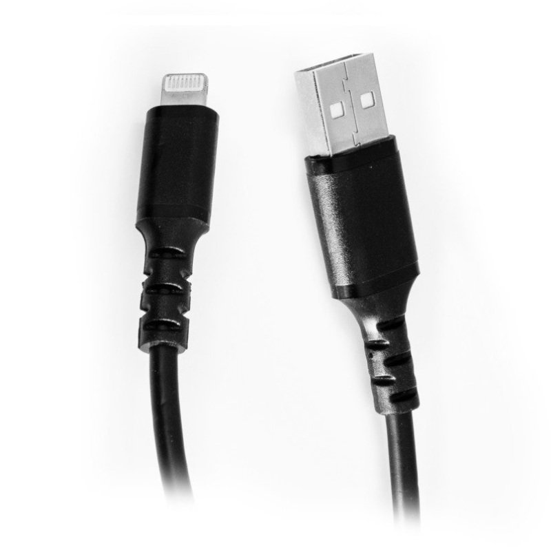 USB to Lightning Cable Black