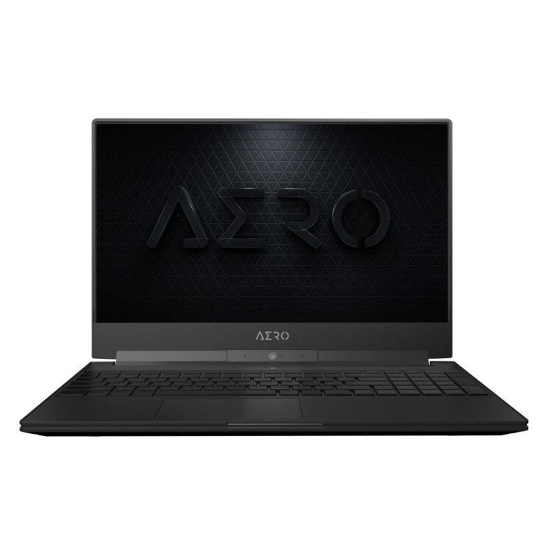 "Gigabyte Aero Core i7 16GB 512GB SSD GTX 1660Ti 15.6"" Win10 Pro Gaming Laptop"