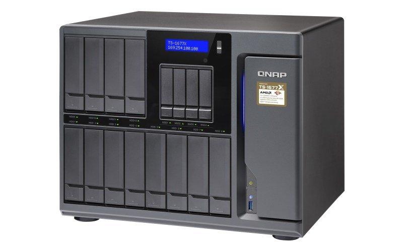 QNAP TS-1677X-1600-8G 16 Bay Desktop NAS Enclosure