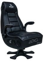 X ROCKER PLAYSTATION (OFFICIALLY LICENSED) INFINITI+ 4.1 PEDESTAL CHAIR - BLACK