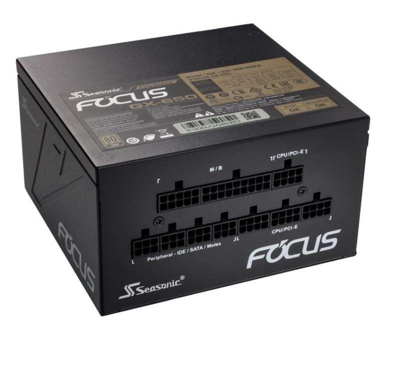 Image of Seasonic Focus GX-650 650W 80+ Gold Modular Power Supply