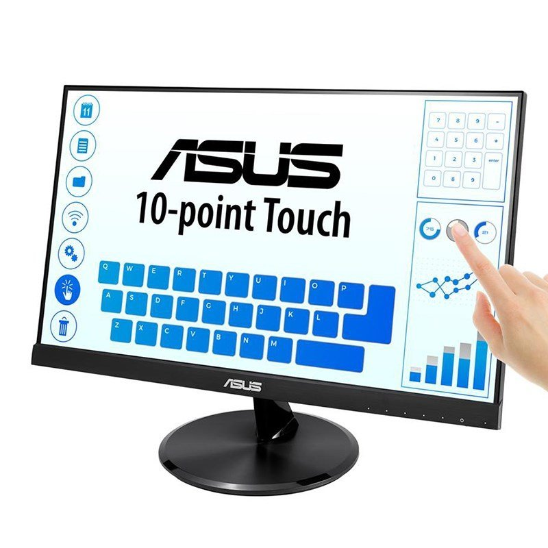 "EXDISPLAY ASUS VT229H 21.5"" FULL HD IPS 10-POINT TOUCHSCREEN MONITOR"