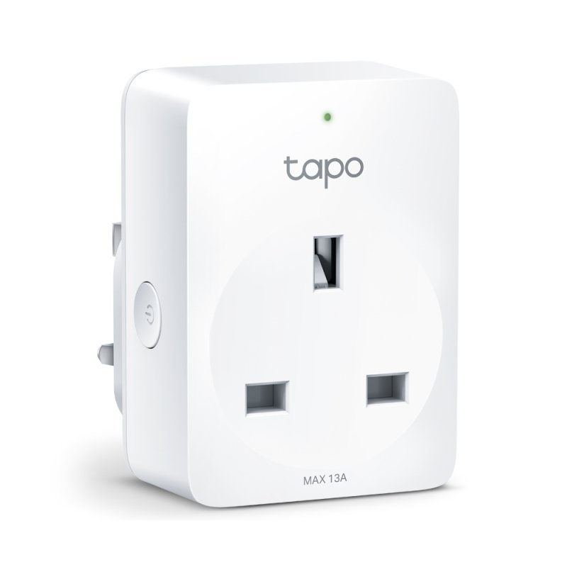 TP-Link Tapo P100 WiFi Smart Plug - Works With Alexa and Google Assistant