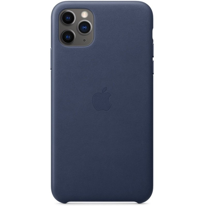 Apple iPhone 11 Pro Max Lather Case Midnight Blue