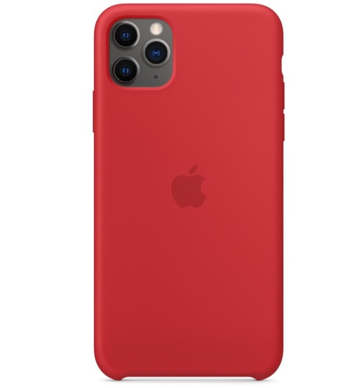 Apple iPhone 11 Pro Max Silicone Case Red